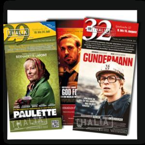 Programmheft der Thalia Kinos Potsdam